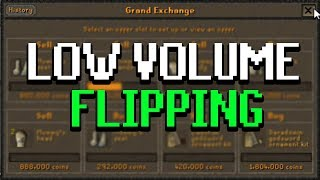 Do THIS before logging out of OSRS (low volume flipping)