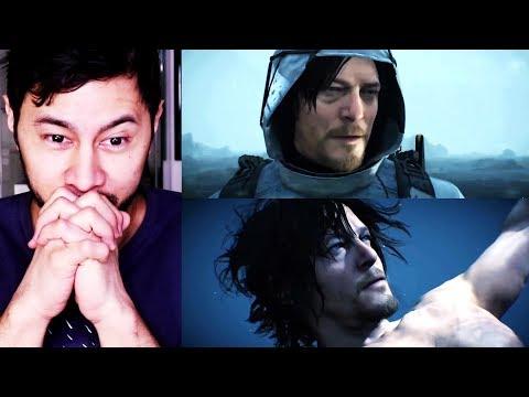 DEATH STRANDING   Hideo Kojima   Reaction to 2017 Game Awards Trailer!