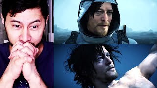 DEATH STRANDING | Hideo Kojima | Reaction to 2017 Game Awards Trailer!