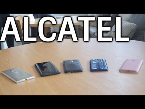 Alcatel MWC 2018 Hands-On: 5 Phones, 3 Minutes, 1 Video