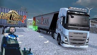 Привет онлайн! Привет дорога дураков! :) Euro Truck Simulator 2 + руль Fanatec ClubSport(, 2018-01-06T21:48:08.000Z)