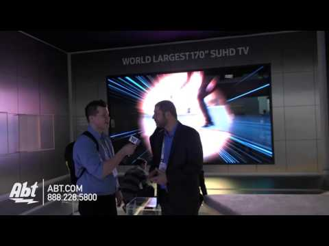 Nick Camino - Samsung rolls out 170-inch TV. Would you buy it?