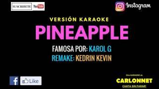 Gambar cover Pinapple - Karol G (Karaoke)
