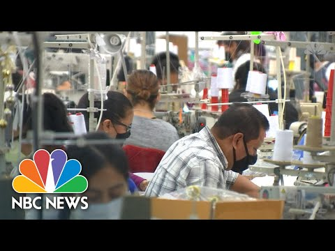 Garment Workers, Still Paid By The Piece, Push For Minimum Wage | NBC News