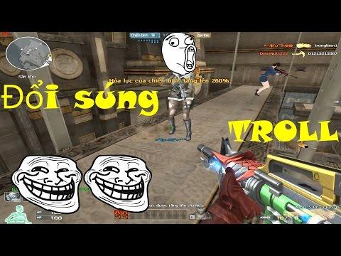 [ Bình Luận CF ] Troll đổi súng '' Khắm Lọ '' - Tiền Zombie v4