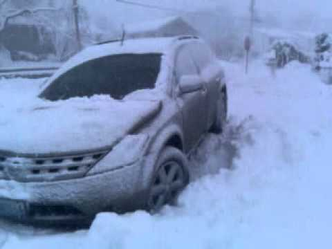 Nissan Murano 04 In The Snow Youtube