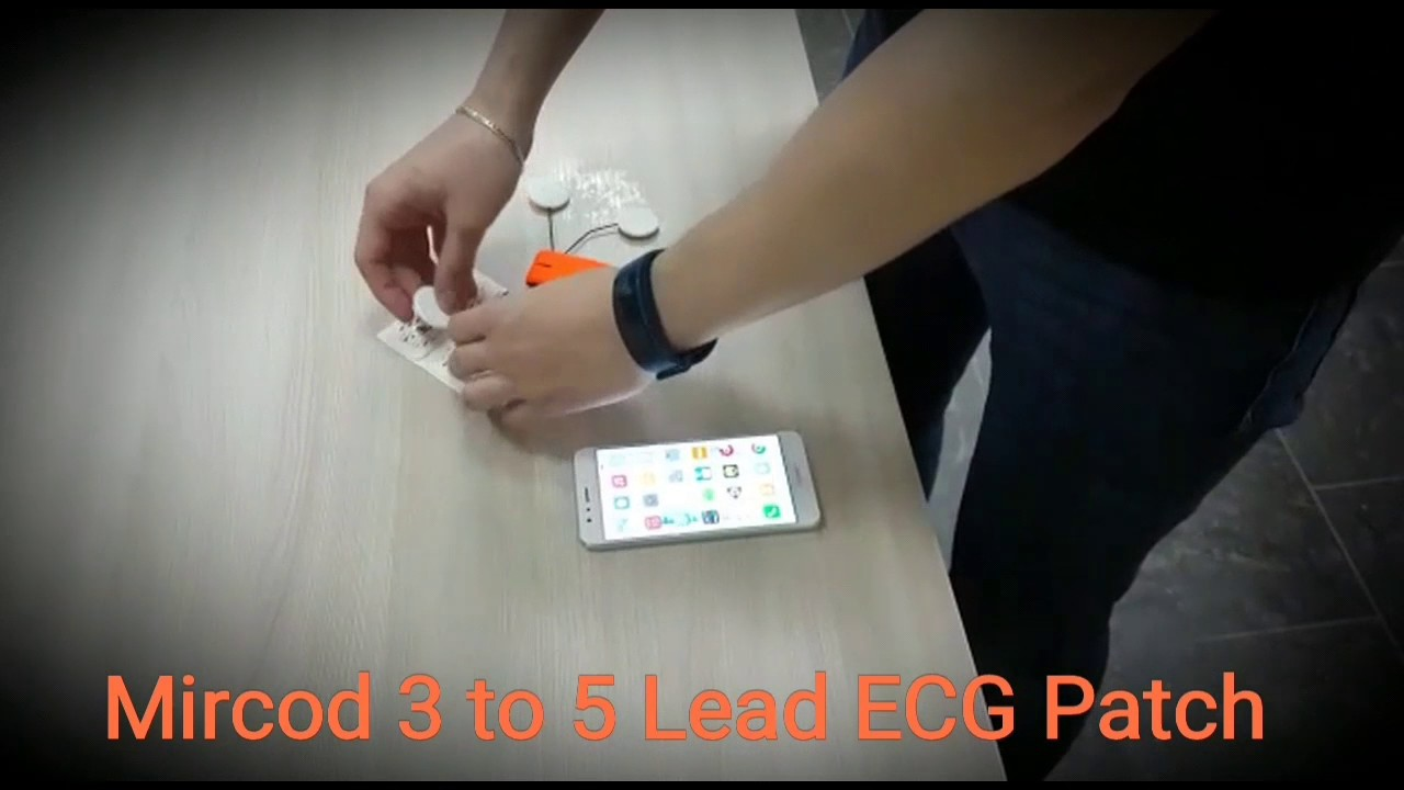 Mircod - ECG Patch (3 to 5 Lead edition)