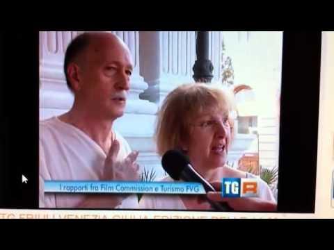 robert & paola italian tv interview