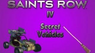 Saints Row 4: Secret Vehicles