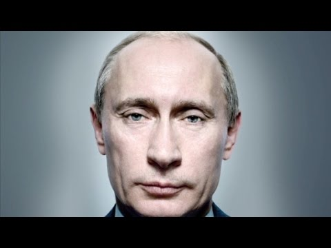 One inch from Vladimir Putin