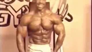 Mr Universe Mike Ashley 1986 Training & Posing
