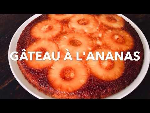 gâteau-renversé-a-l'ananas-caramélisé