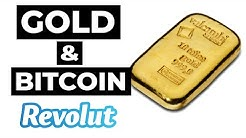 Buying Gold and Bitcoin with Revolut Trading.