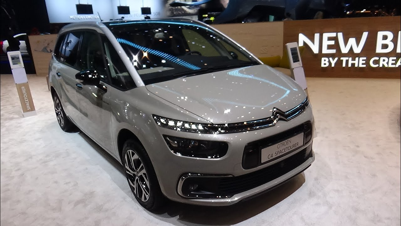 2018 citroen c4 grand spacetourer exterior and interior geneva motor show 2018 youtube. Black Bedroom Furniture Sets. Home Design Ideas