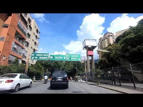 Driving around East Caracas, Venezuela (181025)