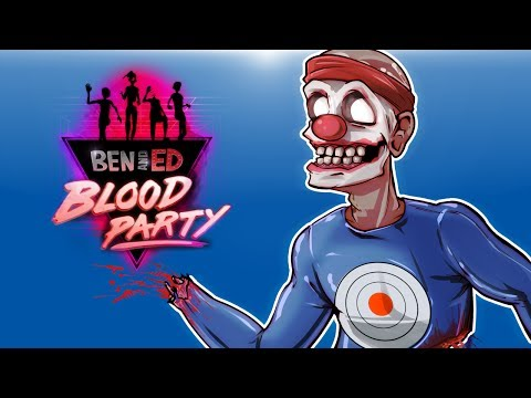 Ben And Ed: Blood Party - CO-OP ZOMBIE DEATH RUN!!!!!
