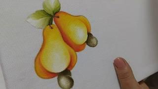 Pintura em Tecido – Aprenda Pintar Caju