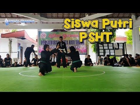 Sambung Siswi PSHT Rayon Margoagung ❤ Sambung Siswi Hijau