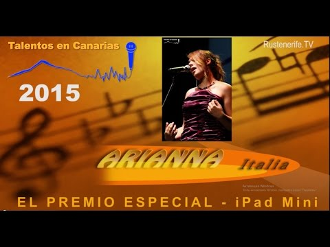 Talentos en Canarias 2015. Arianna.