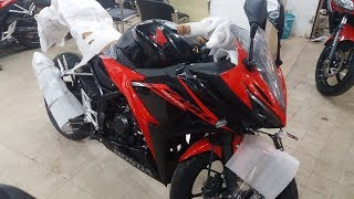 2017 New Honda CBR 150R Victory Black Red Bike Price | Review | Top-speed