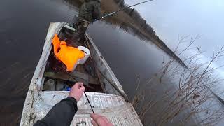 Рыбалка на сети Закрытие сезона с каналом Коми Рыбак