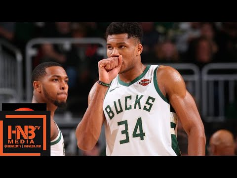 San Antonio Spurs vs Milwaukee Bucks Full Game Highlights | 11.24.2018, NBA Season