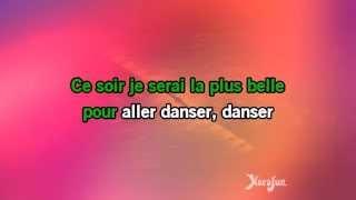 Karaoké La plus belle pour aller danser - Sylvie Vartan *