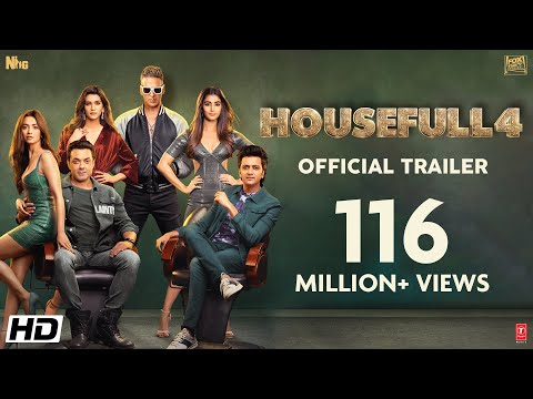 Housefull 4 - Official Trailer | Akshay Kumar, Riteish, Bobby, Kriti