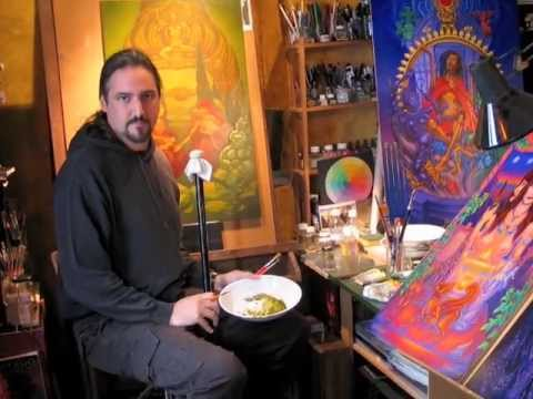 The Visionary Art of Laurence Caruana: Life as a Gradual Unfolding of the Sacred