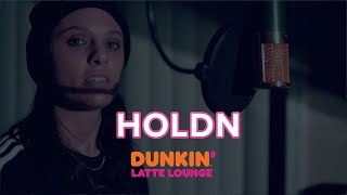 HOLDN Performs At The Dunkin Latte Lounge!