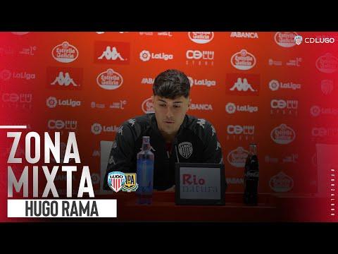 Rueda de prensa de Hugo Rama tras el Lugo - Alcorcón