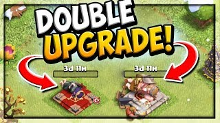 DOUBLE HERO UPGRADE! Clash of Clans Farm to MAX #7