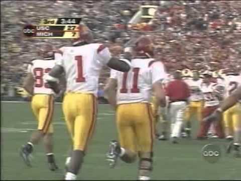 USC Football - Williams to Leinart Rose Bowl 2004