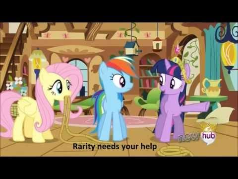 my little pony A True, True Friend With Lyrics 720p