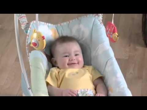 Качеля-шезлонг Fisher Price PW9454из YouTube · Длительность: 49 с