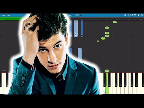 Shawn Mendes - Lost In Japan - Piano Tutorial / Cover
