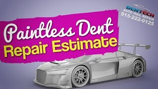 Paintless Dent Repair Estimate | Can Paintless Dent Repair Fix Hail Damage
