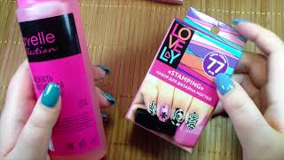 Стемпинг для ногтей: как делать маникюр, как пользоваться набором (фото и видео уроки)