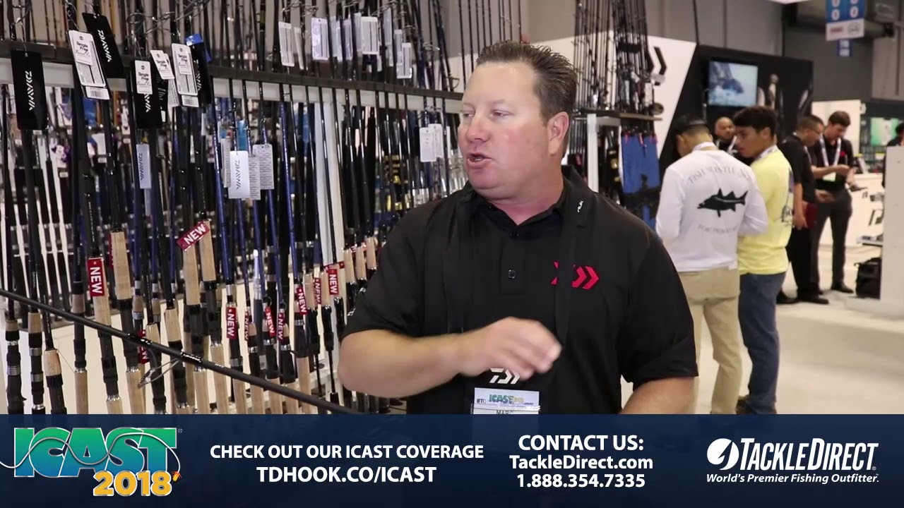 2e27c318e0a Daiwa Back Bay Rods at ICAST 2018. TackleDirect