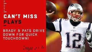 Tom Brady & Pats Execute Flawless Opening TD Drive!