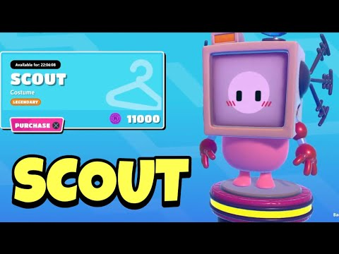 Fall Guys Item Shop SCOUT!!! [APRIL 2ND, 2021] (Fall Guys Ultimate Knockout)