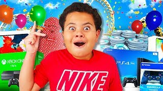 KAYLEN'S AMAZING 11TH BIRTHDAY VLOG!!! SURPRISING HIM WITH THE BEST GIFT EVER!! YOU WONT BELIEVE IT!