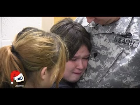 Soldier Surprise Only On MCtv