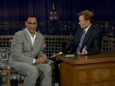 Conan O'Brien 'Jimmy Smits 7/16/04