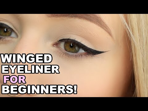 How To Master Winged Eyeliner | Makeup For Beginners