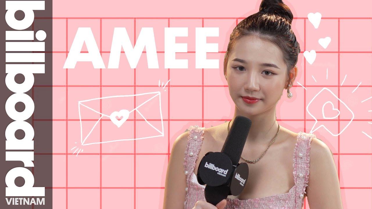 AMEE rối bời không nhận ra nổi bài hát của chính mình | Billboard Việt Nam