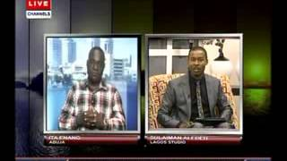 Security:Nigeria on the right track - Ita Enang pt.2