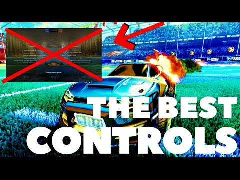 The Best Controls For ROCKET LEAGUE