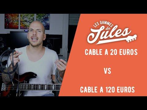 Comparatif Câbles JACK à 20 Euros Vs Jack à 120 Euros - Jules Brosset