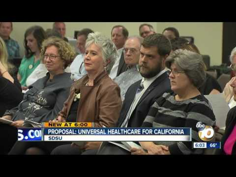 Proposal: Universal healthcare for California